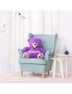 Purple Giant Teddy Bear 100 CM – 39 Inch – BoBo Giant Teddy Bears - Big Teddy Bears - Huge Stuffed Bears