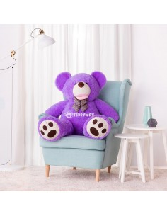 Purple Giant Teddy Bear 130 CM – 51 Inch – BoBo Giant Teddy Bears - Big Teddy Bears - Huge Stuffed Bears