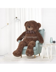 Dark Brown Giant Teddy Bear 170 CM – 67 Inch – NoMo Giant Teddy Bears - Big Teddy Bears - Huge Stuffed Bears