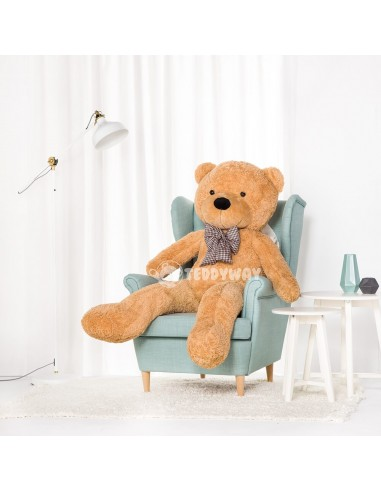 Light Beige Giant Teddy Bear 160 CM – 63 Inch – PoPo Giant Teddy Bears - Big Teddy Bears - Huge Stuffed Bears