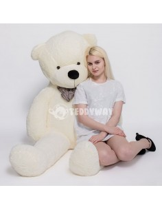White Giant Teddy Bear 200 CM – 78 Inch – PoPo Giant Teddy Bears - Big Teddy Bears - Huge Stuffed Bears