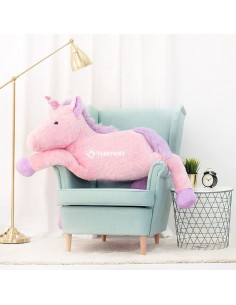 Pink Giant Plush Unicorn – 125 Cm – 49 Inch – SoSo Giant Stuffed Unicorns