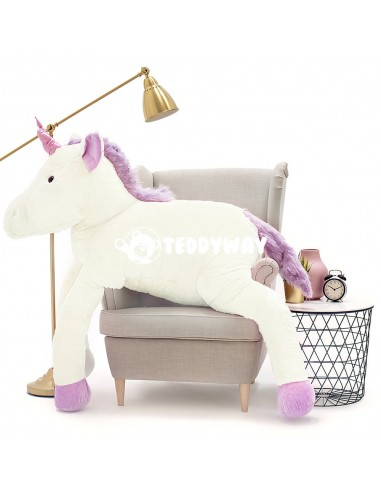 White Giant Plush Unicorn – 190 Cm –...